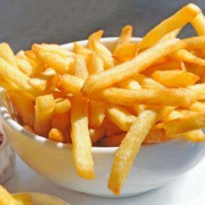Las Patatas fritas finas de Del Chef