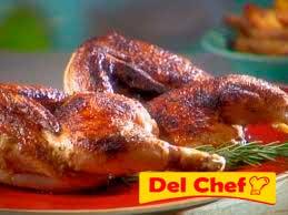 Medio pollo asado a domicilio