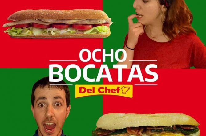 Cartel de campaña de 8 bocatas Del Chef en Granada