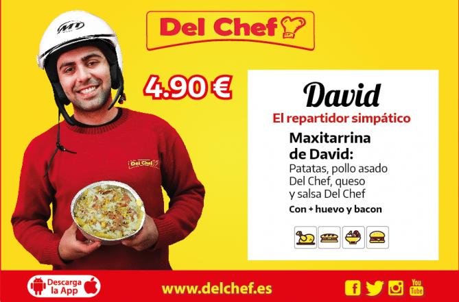 foto de Foto de David con una Maxitarrina Del Chef a domicilio en Granada