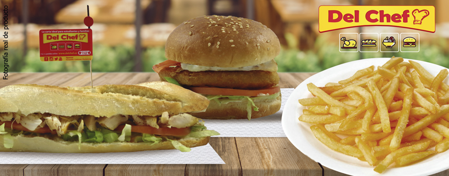 cupón descuento de bocadillo o hamburguesa
