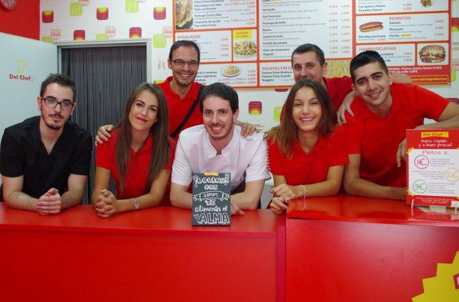 Equipo de trabajo Del Chef Granada