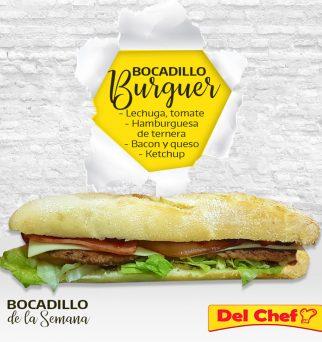 Foto de bocadillo de hamburguesa