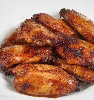 Plato alitas de pollo