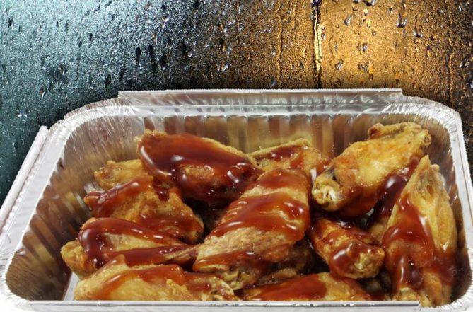 alitas de pollo barbacoa a domicilio