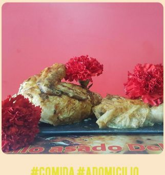 El pollo asado del corpus de Granada a domicilio