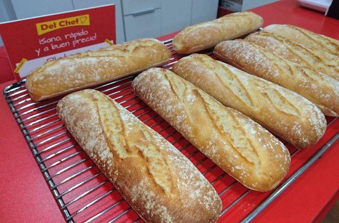 Pan recién hecho Granada