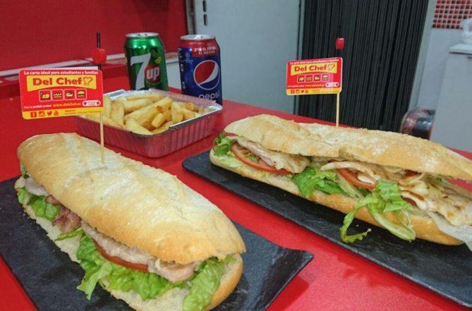 Foto de Menú a domicilio de bocadillos para dos personas en Granada