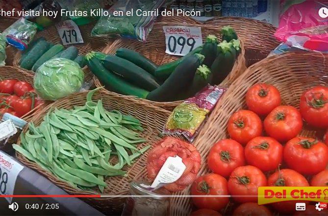 Verduras frescas en Granada