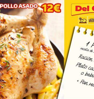 foto de promoción de pollo asado a domicilio en Granada