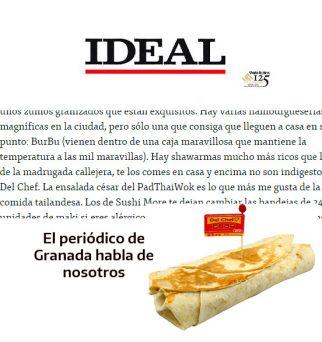 kebab o durum a domicilio en Granada
