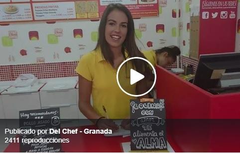 Pollo asado a domicilio en Granada