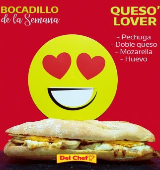 Bocadillo Queso Lover
